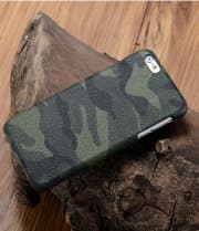 Genuine Leather Camo Pattern Case for HTC 10