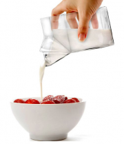 Half Pint Creamer Milk Carton Shape Tempered Glass