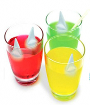 Shark Fin Shape Ice Cubes Silicone Ice Cube Tray