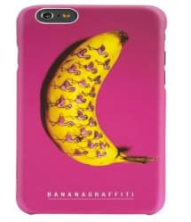 aiino Banana Graffiti iPhone 6 6s Plus Case