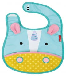 Skip Hop Zoo Tuck-Away Baby Bib Unicorn
