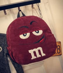 Red M&M Backpack - 15 Inch