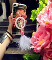 Dreamcatcher Metal Chrome iPhone 6 Plus Case