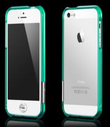 More Color Gem Lucent Jelly Ring for iPhone 5 5s SE Emerald Green
