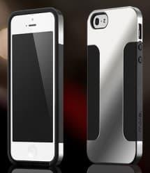 More Para Duo Metal for iPhone 5 5s SE Mercury Silver