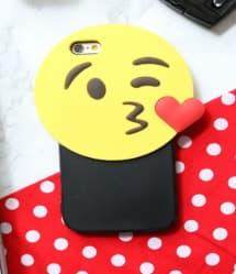 "Emoji ""Kiss"" iPhone 6 6s Plus Case"