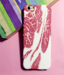 iPhone 5 5S Food Case - Meat