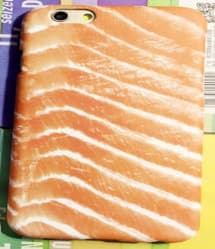 iPhone 5 5S Food Case - Salmon