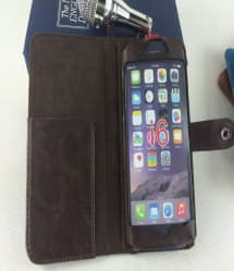 Book Style Wallet Case with Latch for iPhone 6 6s Plus