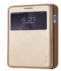 Rock Leather Flip Window Case for iPhone 6 6s Plus