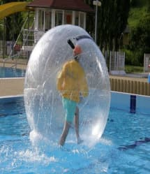 2 Meter Water Walking Roll Ball Inflatable Zorb Ball