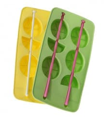 Lemon Shape Ice Cubes Silicone Ice Cube Tray