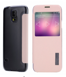 Rock Elegant Series Flip Case for Samsung Galaxy S5 Pink