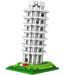 Loz Nano Block Architecture Series Tower of Pisa