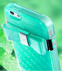Jelly Bow Perfume Case for Galaxy S5