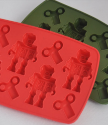 Crazy Robot Ice Cube Tray