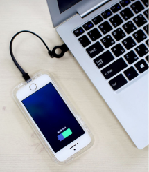 Connect Case With Built In Lightning Cable for iPhone 5 5s SE
