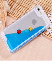 Moving Fish Aquarium Case for iPhone 5 5s SE