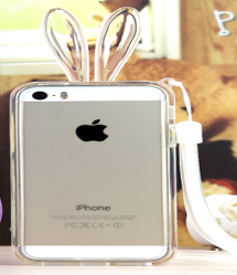 Rabbit Ears Light Up Bumper Case for iPhone 6 6s