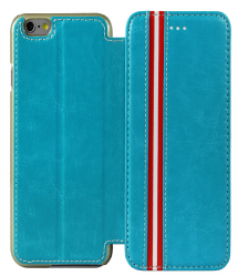 Leather Stripe Fashionable iPhone 6 6s Case