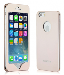 Complete Real Metal Front Back Protective Case for iPhone 6 6s