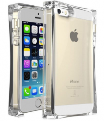 iPhone 6 6s Ice Block Silicone Case with LED Flashing Light Notification 4.7 inches