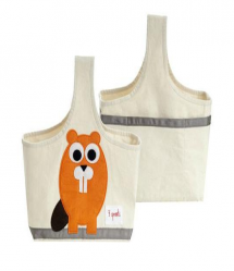 3 Sprouts Cute Animal Storage Caddy for Kids & Babies