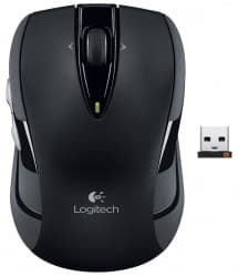 Logitech M545 Wireless Optical Mouse - Black