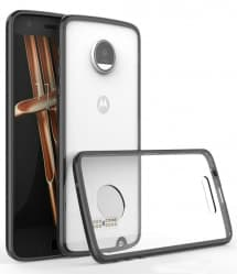Ultra Thin Clear Hard Back Case for Moto Z