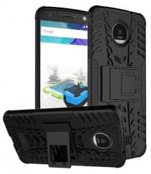 Tough Shockproof Case for Moto Z With Stand