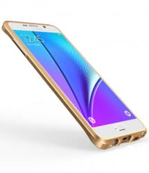 Luphie Galaxy Note 5 Protective Layers Stealth Bumper Metal Case