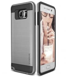 Verus Verge Series Galaxy Note 5 Case Satin Silver