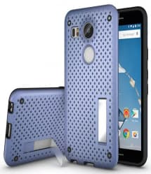 Perforated Slim Armor Case for Nexus 5X with Stand