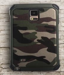 Camo Tough Case for Galaxy S6 Edge