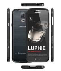 Luphie Galaxy S6 Protective Layers Stealth Bumper Metal Case