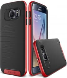 Verus Red Galaxy S6 Case Crucial Bumper Series