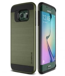 Verus Verge Series Galaxy S6 Edge Case Miltary Green