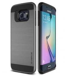 Verus Verge Series Galaxy S6 Case Steel Silver