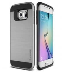 Verus Verge Series Galaxy S6 Edge Case Satin Silver