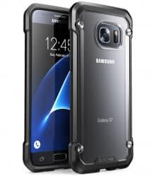 Galaxy S7 Unicorn Beetle Hybrid Protective Bumper Case - Frost