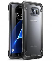 Galaxy S7 Edge Unicorn Beetle Hybrid Protective Bumper Case - Frost