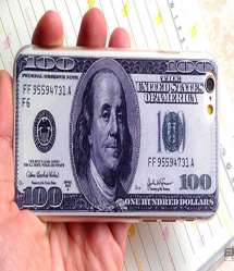 $100 Bill Money Case For iPhone 5 5S
