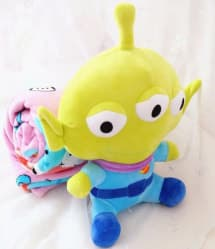 Toy Story Alien Plush Doll Blanket Combo 35cm (14 inches) Doll With 1.5m (5 feet) Blanket