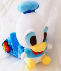 Donald Duck Plush Doll Blanket Combo 35cm (14 inches) Doll With 1.5m (5 feet) Blanket