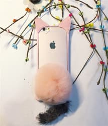 iPhone 6 6s Plus Rabito Bunny Ears with Tail Rabbit Case