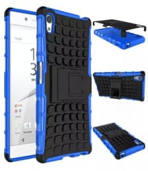 Tough Thin Defense Case For Xperia Z5 With Stand