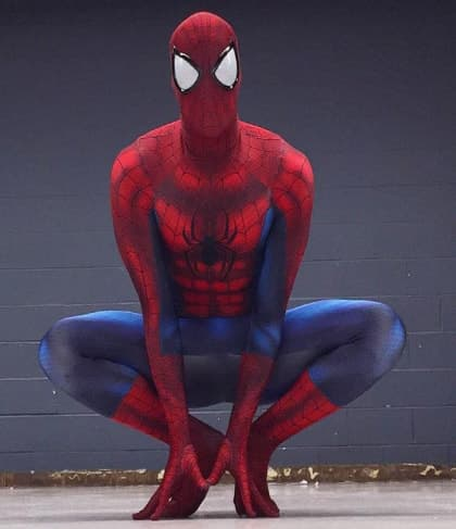 Spiderman Complete Cosplay Costume For Adults