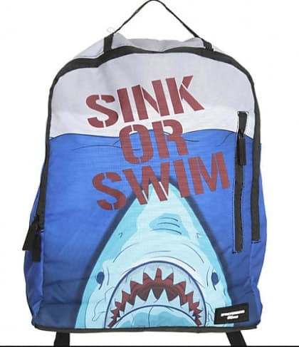 Sprayground Slims Backpack Sink Or Swim