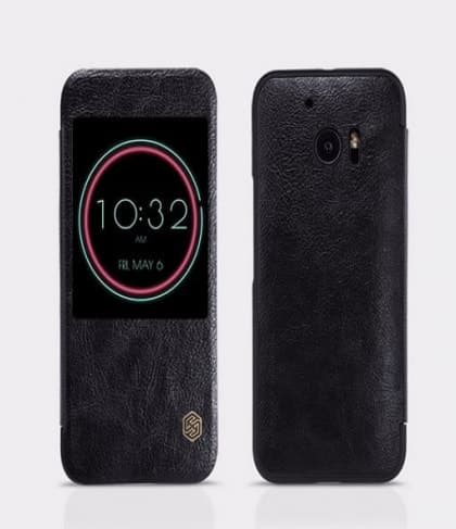 HTC 10 Genuine Leather Ice View Case