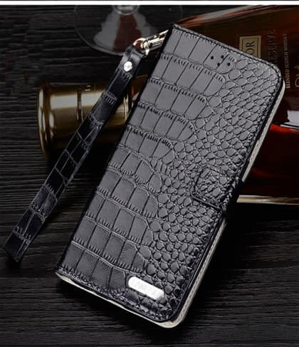 Genuine Leather Flip Wallet HTC 10 Case
